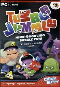 Tumble Jumble, Mind Boggling Fun Puzzle Strategy Game, PC Game, New