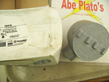 """Appleton Electric GRLB100 1"""" Mall Iron GR Conduit Outlet Box"""