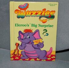 Disney Wuzzles Eleroo's Big Surprise HC Book Vintage 1984