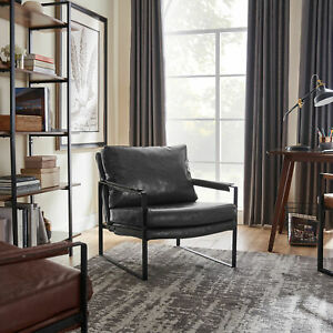 The New SINGLE SOFA PU LEATHER UPHOLSTERED LIVING ROOM OFFICE BEDROOM