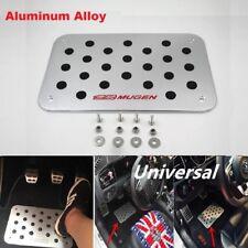Mugen Aluminum Car Anti Skid Floor Mat Carpet Foot Rest Pedal Pad Cover 4 Honda