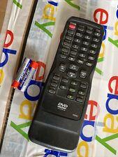 Emerson Sylvania DVD Remote Control Model N9068 Black Tested Working OEM NICE