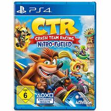 Crash Team Racing Nitro Fueled Sony Playstation 4 PS4 CRT USK6