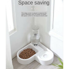 Cat Dog Feeder 2 In 1 Automatic Water Bowl And Food Bowl Double Pet Bowls