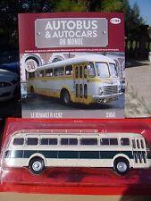 n° 44 RENAULT R 4192 Autobus et Autocar du Monde  année 1956 1/43 Neuf