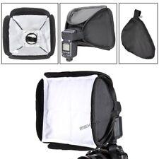 "23cm 9"" Mini Softbox Portable Folding Speedlite Flash Light Box Cube Diffuser"
