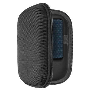 Geekria Carrying Case for JBL GO 3 Portable Bluetooth Speaker (Black)