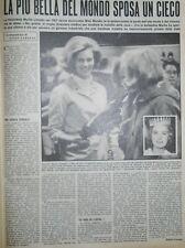 Miss Mondo 1957 - Una pagina - anno 1967 - o6