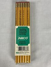 Lot Vintage 1974 Arco Empire Pencil No 88 #2 12 Pencils X 5 Packs