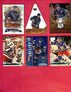 New York Rangers Lot of (40) Different Modern Inserts! Jerseys! Messier! Gretzky