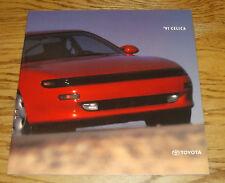Original 1991 Toyota Celica Deluxe Sales Brochure 91