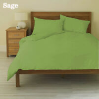1200/1000 TC Egyptian Cotton All Bedding Items US Sizes Sage Solid