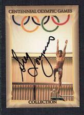 Greg Louganis #33 signed autograph auto 1996 Atlantic Olympics Trading Card