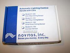 NOVITAS MODEL 01-110 TWO-WAY AUTOMATIC LIGHTING CEILING SENSOR 9621