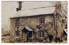 HEREFORDSHIRE, ST. WEONARDS, COTTAGE, SNOW SCENE, 1909, RP