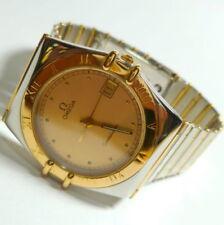 Relojes de pulsera unisex OMEGA de acero inoxidable