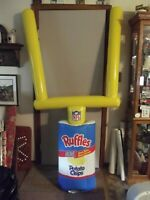 "Lays Potato Chips NFL Inflatable Store Display W/ Goal Post 80"" Tall"