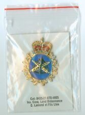 Canada Military Land Ordonnance Cap Badge MINT IN PACKAGE