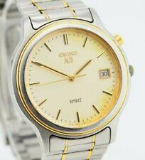 E300 Vintage Seiko AGS Spirit Kinetic Watch Needs Repair 5M22-7A40 JDM 6.1