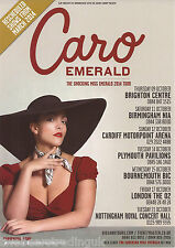 Event Promo Flyer: Caro Emerald - The Shocking Miss Emerald UK Tour 2014