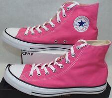 New Mens 10.5 Converse Chuck Taylor CT Hi High Top Pink Paper Shoes $60 147132F