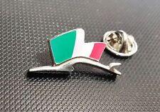 Porsche Pin Silhuette Flagge Italien 28x15mm limitierte Auflage