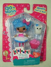 NEW LALALOOPSY MITTENS FLUFF N STUFF MINI DOLL FIGURE #1 SILLY PARTY SERIES