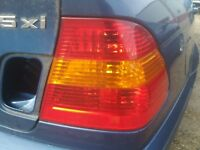 Right Passenger Side Quarter Outer Housing Tail Light Taillight Sedan BMW E46