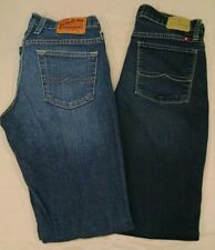 2 pair Lucky Brand Women's Blue Jeans size 2/26 waist Easy Rider Brooklyn Skinny