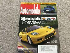 2001 Acura RSX, 2001 Mazda MPV, 2002 Jaguar X-Type Automobile Magazine