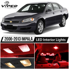 2006-2013 Chevy Impala Red LED Interior Lights Package Kit