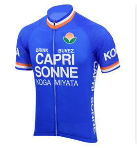 Maillot Capri Sonne Cycliste Rétro Vintage Classic Cyclism Vélo Tour de France