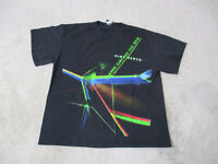 Pink Floyd Dark Side Of The Moon Concert Shirt Adult Large Black Green Band Mens