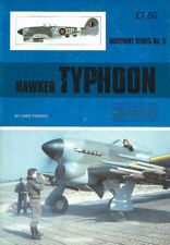 WARPAINT 5 HAWKER TYPHOON WW2 RAF Mk.IB NORMANDY FALAISE GAP 2nd TAF ROCKETS