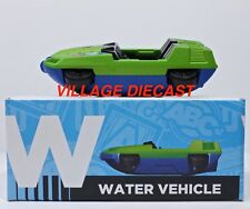 """2016 Matchbox Learning Blox """"W"""" Swamp Commander™ MATTE GREEN / MINT with BOX"""