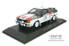 1 18 Minichamps AUDI Quattro Winner Rally San Remo Mouton/pons 1981