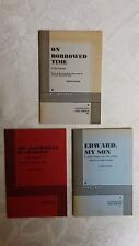 """( 3 ) Vintage """" DRAMATISTS PLAY SERVICE """" Play Books, Acting Edition     pack #1"""