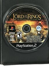 Lord of the Rings: The Return of the King (Sony PlayStation 2, 2003) Disc Only