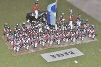25mm napoleonic / british - line 30 figures - inf (33332)