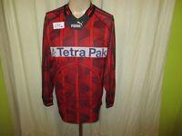 """Eintracht Frankfurt Original Puma Langarm Trikot 1995/96 """"Tetra Pak"""" Gr.S- M"""