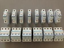 Hager LS Sicherungsautomat Leitungsschutzschalter MBN/MCN/MBS/MCS - 1/3-polig