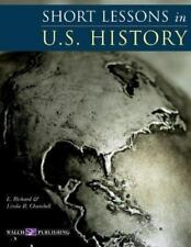 Short Lessons In U.S. History by Churchill