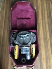 Bell And Howell 70 DR 16mm Camera In Leather Case & Taylor Hobson Cooke Lenses
