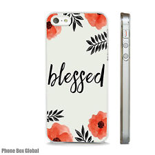 BLESSED INSPIRATIONAL PHONE CASE FITS IPHONE 4 4S 5 5S 5C 6 6S 7 8 SE PLUS X