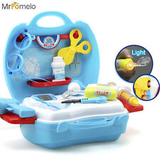 Pretend Play Toys Doctor Set Medicine Box Role Playing Game for Child Toy Dr Kit