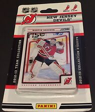 NEW JERSEY DEVILS  2012-13 Score Hockey 12 Card Team SET New  Brodeur Kovalchuk+