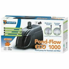 Superfish Pond Pump Flow Eco Fountain & Waterfall Filter Low Energy 1000Lph