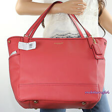 NWT Coach Saffiano Leather Diaper Baby Multifunction Tote Bag 26353 Pink RARE