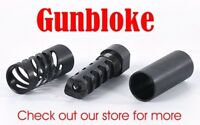 "MUZZLE BRAKE QUAD-TAC-PLUS 1/2x20, 1/2"" UNF. bored to suit your calibre"