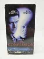 THE CONFESSION (vhs) Alec Baldwin, Ben Kingsley, Amy Irving